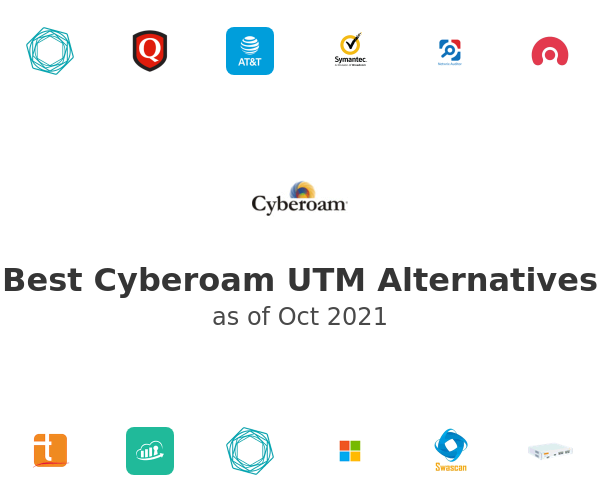 Best Cyberoam UTM Alternatives
