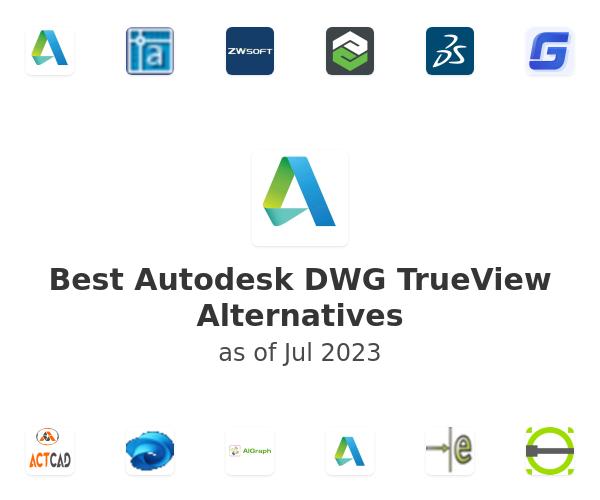 Best Autodesk DWG TrueView Alternatives