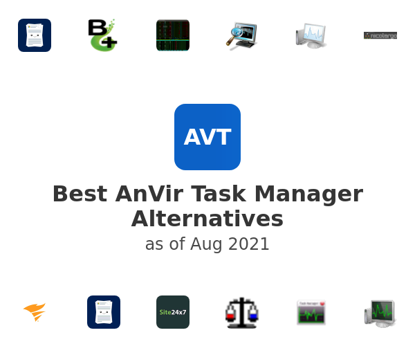 Best AnVir Task Manager Alternatives
