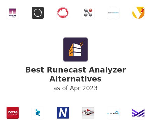 Best Runecast Analyzer Alternatives