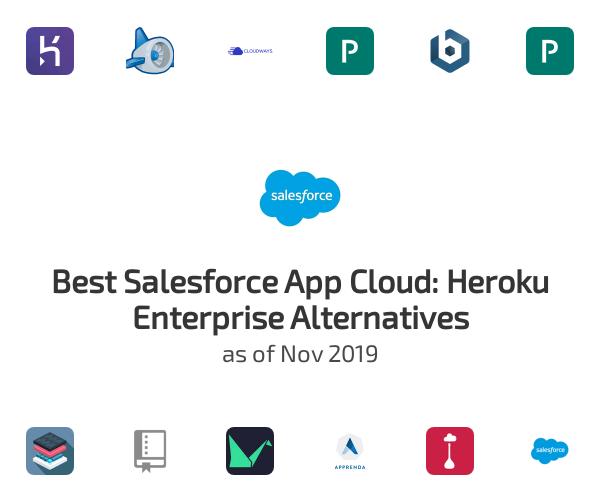 Best Salesforce App Cloud: Heroku Enterprise Alternatives