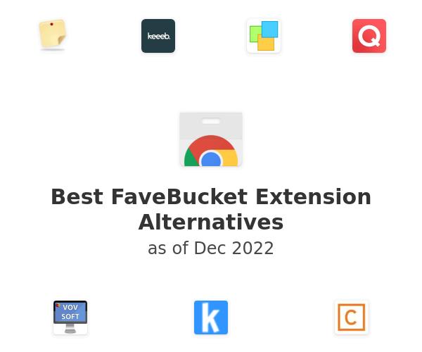 Best FaveBucket Alternatives