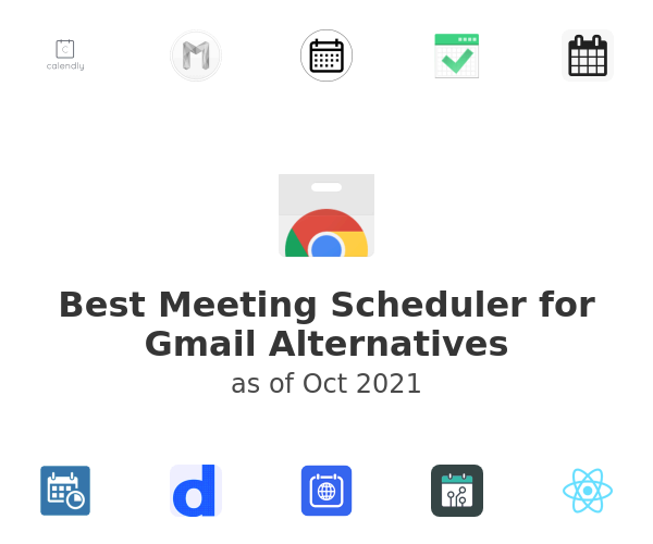 Best Meeting Scheduler for Gmail Alternatives