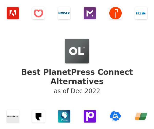 Best PlanetPress Connect Alternatives