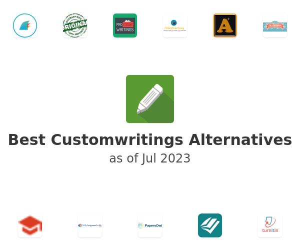 Best Customwritings Alternatives