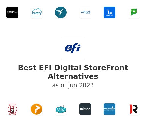 Best EFI Digital StoreFront Alternatives