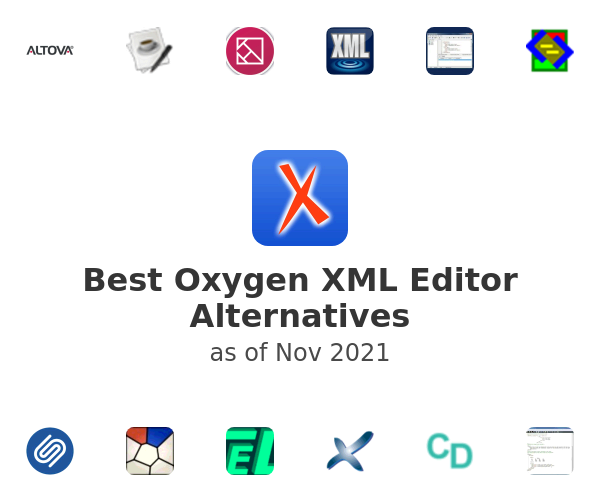 Best Oxygen XML Editor Alternatives