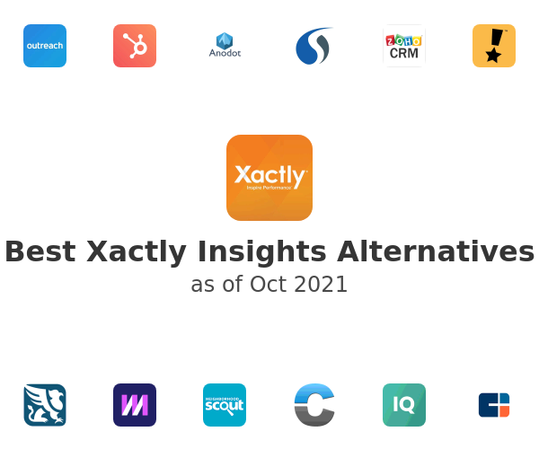 Best Xactly Insights Alternatives