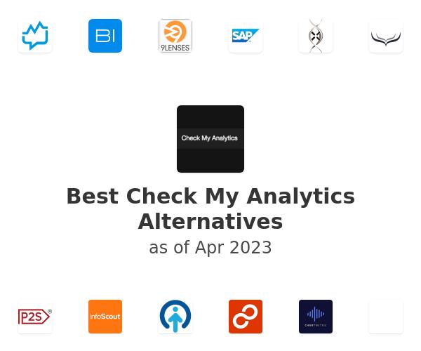 Best Check My Analytics Alternatives