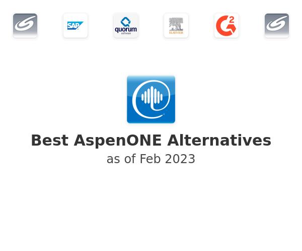 Best AspenONE Alternatives