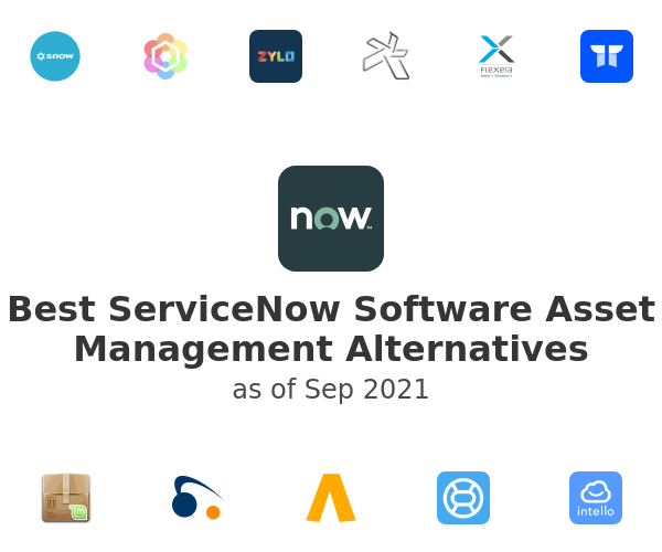 Best ServiceNow Software Asset Management Alternatives