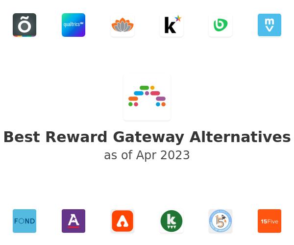 Best Reward Gateway Alternatives