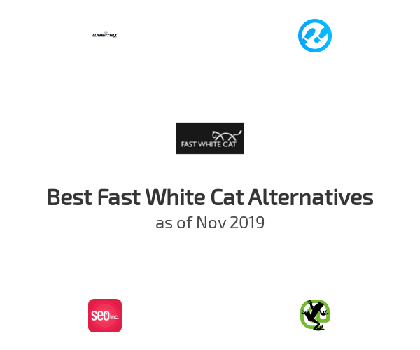 Best Fast White Cat Alternatives