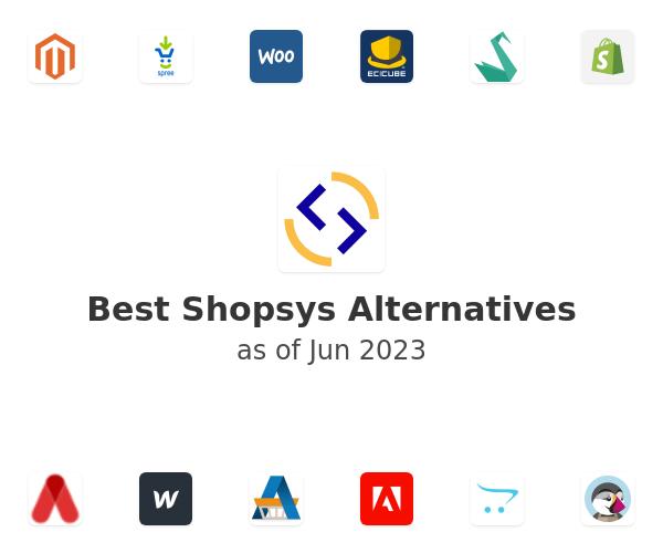 Best Shopsys Alternatives