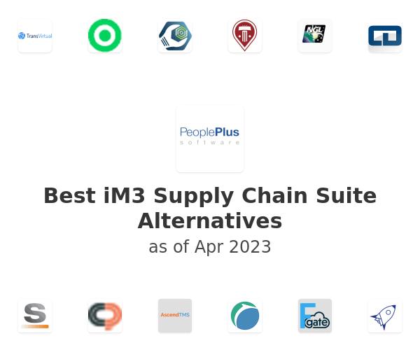 Best iM3 Supply Chain Suite Alternatives