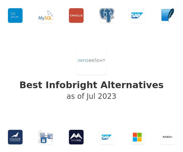 Best Infobright Alternatives