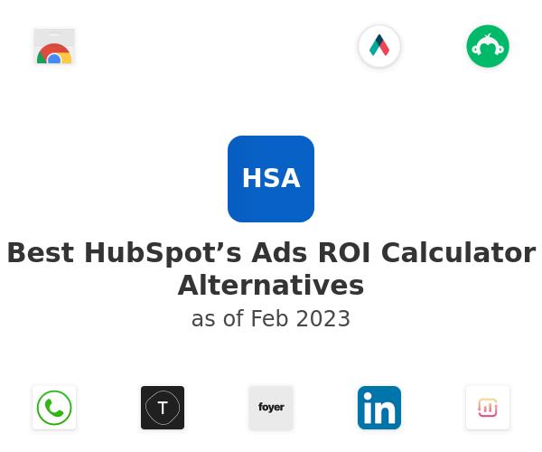 Best HubSpot's Ads ROI Calculator Alternatives