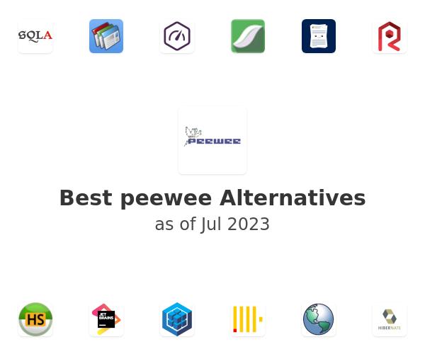 Best peewee Alternatives