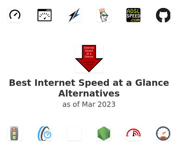 Best Internet Speed at a Glance Alternatives