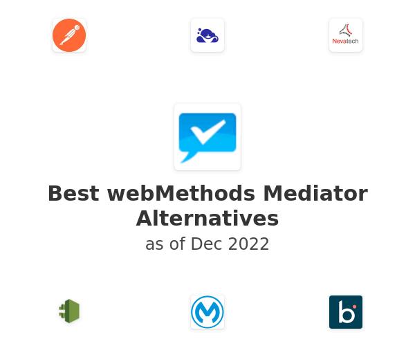 Best webMethods Mediator Alternatives