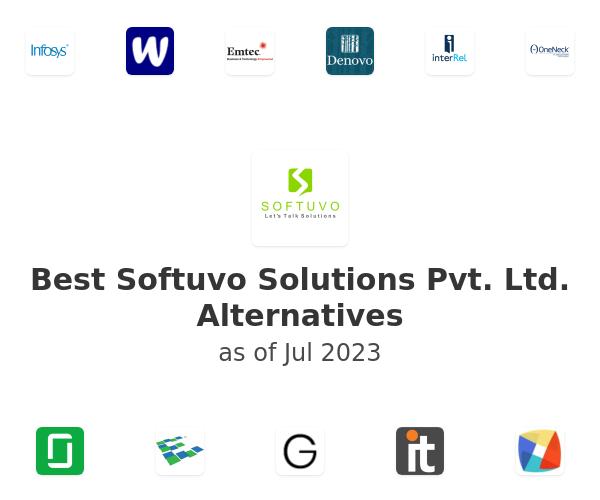 Best Softuvo Solutions Pvt. Ltd. Alternatives