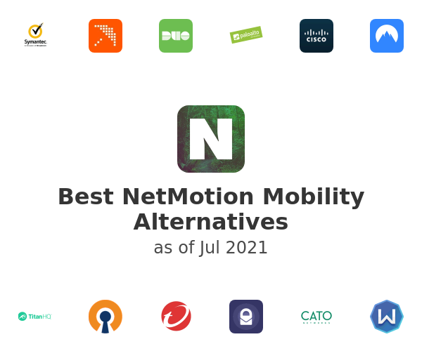 Best NetMotion Mobility Alternatives