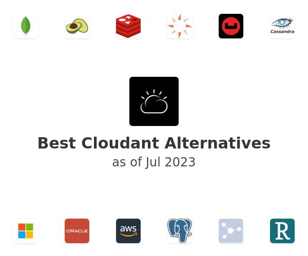 Best Cloudant Alternatives