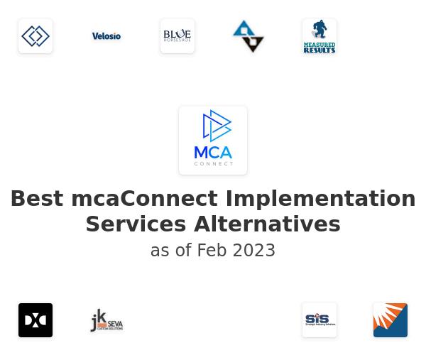 Best mcaConnect Implementation Services Alternatives