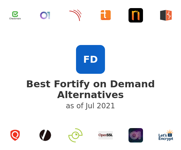 Best Fortify on Demand Alternatives