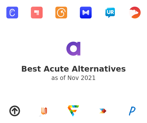 Best Acute Alternatives