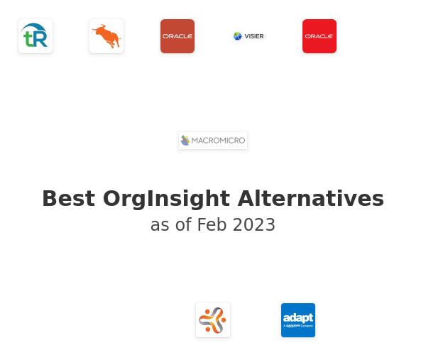 Best OrgInsight Alternatives