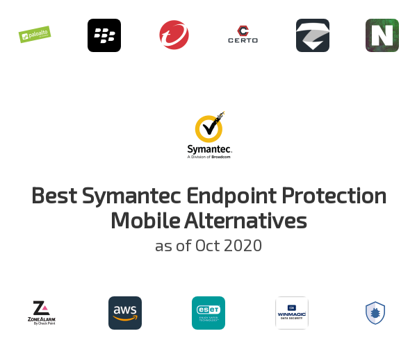 Best Symantec Endpoint Protection Mobile Alternatives