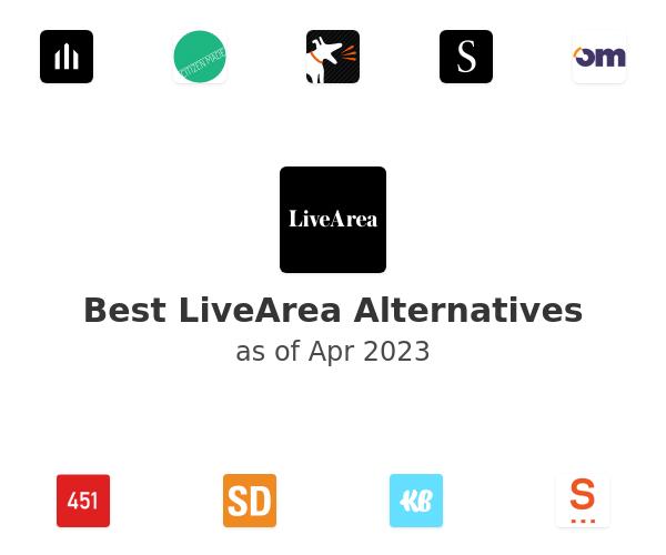 Best LiveArea Alternatives