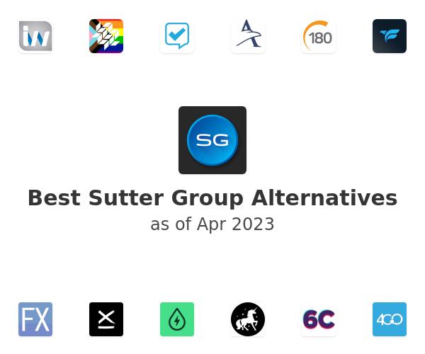 Best Sutter Group Alternatives