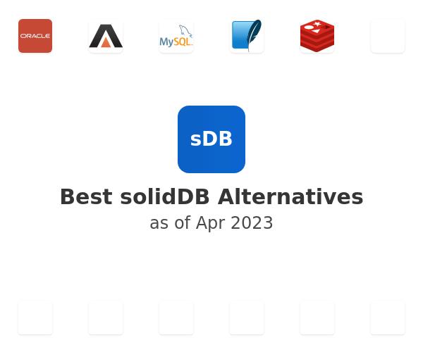 Best solidDB Alternatives