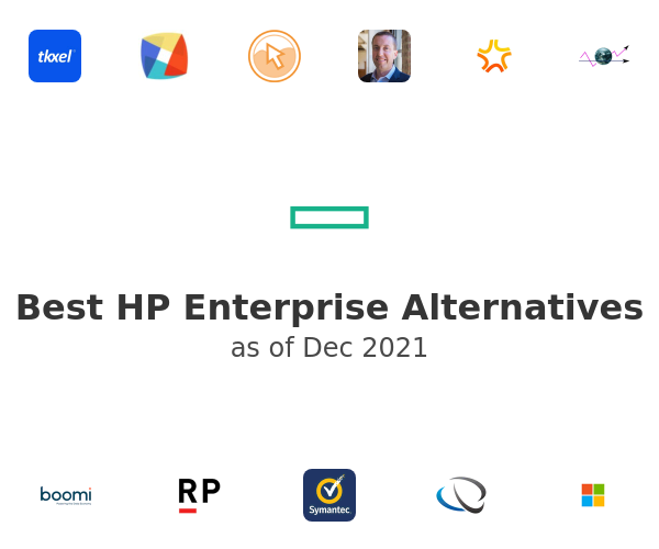 Best HP Enterprise Alternatives