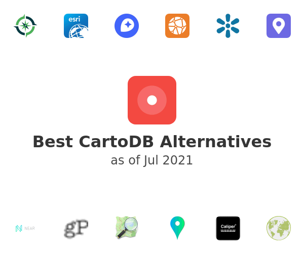 Best CartoDB Alternatives