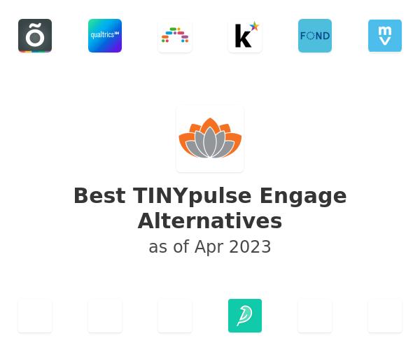 Best TINYpulse Engage Alternatives