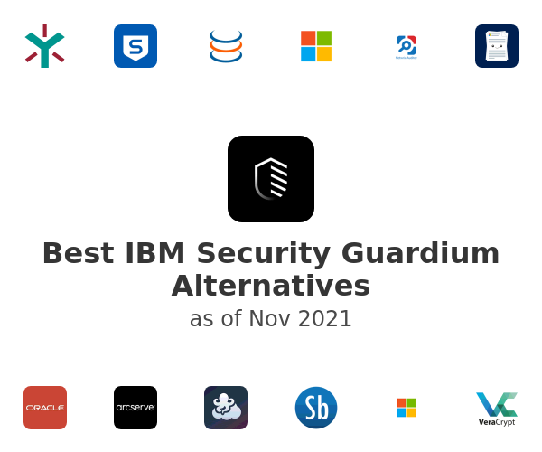 Best IBM Security Guardium Alternatives