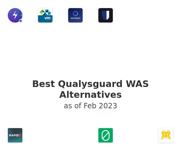 Best Qualysguard WAS Alternatives