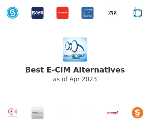 Best E-CIM Alternatives