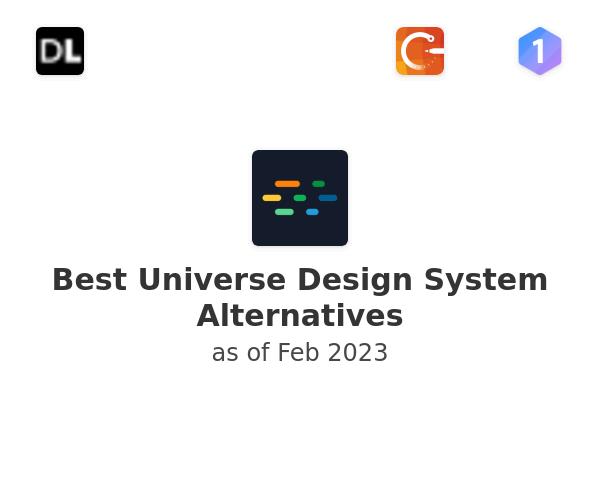 Best Universe Design System Alternatives