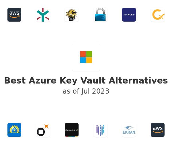 Best Azure Key Vault Alternatives
