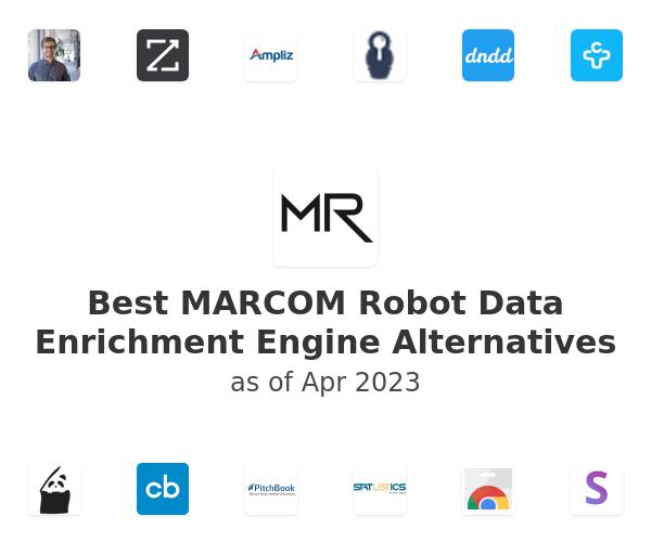 Best MARCOM Robot Data Enrichment Engine Alternatives