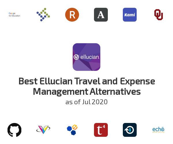 Best Ellucian Travel and Expense Management Alternatives