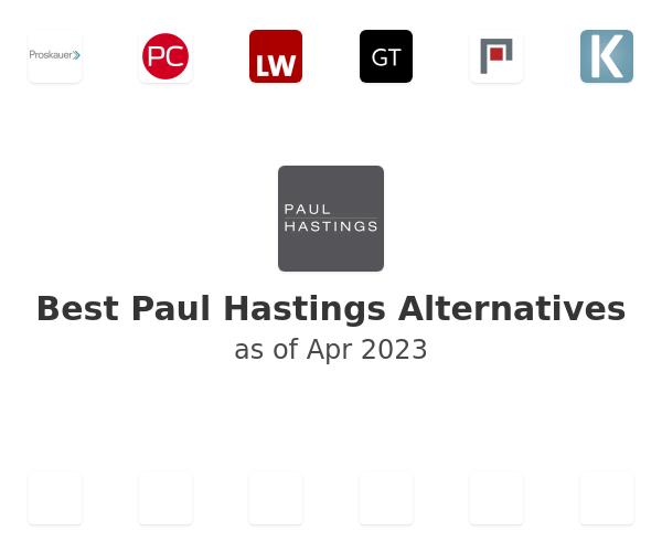 Best Paul Hastings Alternatives