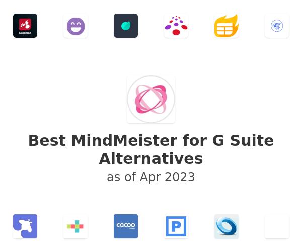Best MindMeister for G Suite Alternatives