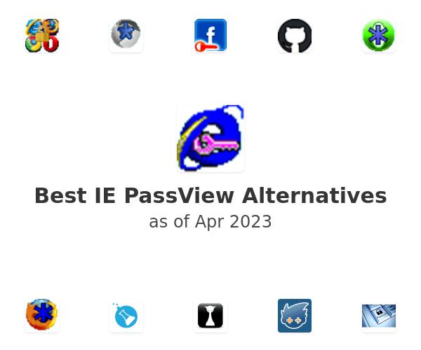 Best IE PassView Alternatives