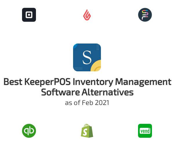 Best KeeperPOS Inventory Management Software Alternatives