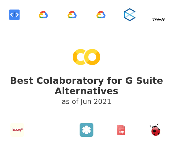 Best Colaboratory for G Suite Alternatives